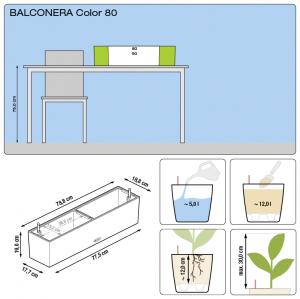 balconera color 80 large